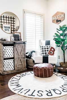 285 Best Black And White Baby Rooms