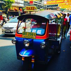 Taxi! Awesome Thai transportation. #tuktuk #tuk #car #transportation #taxi #bangkok #thailand #city #photo #photos #pic #pics #picture #photographer #pictures #snapshot #picoftheday #photooftheday #color #focus #capture #moment #photoshoot #photodaily