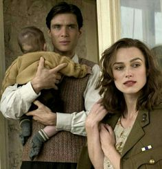 With Cillian Murphy and their baby in Edge of Love...