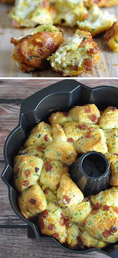 Breakfast Pull-Apart Bread | Click Pic for 25 Easy Mothers Day Breakfast in Bed Ideas | Homemade Brunch Ideas for a Crowd
