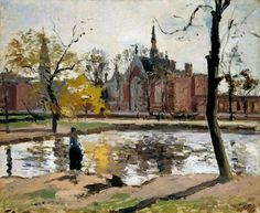 Camille Pissarro - Dulwich College, Londra