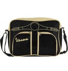Vespa messenger bag!