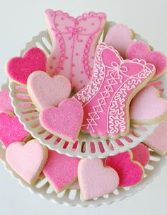 Wedding Shower Lingerie Cookies  via Glorious Treats »