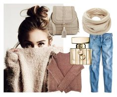 """""""Untitled #48"""" by deja-leko ❤ liked on Polyvore featuring Acne Studios, J.Crew, Helmut Lang and Gucci"""
