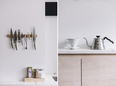 kitchen accessories displayed at FVF apartment / sfgirlbybay