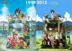 Digimon Adventure: Then and Now