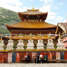 Tagong, Tibet 10 by neilwade, via Flickr