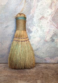 Antique Primitive Whisk Broom by AlteredArcheology on Etsy, $9.00