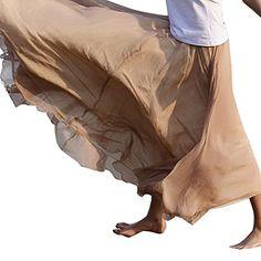 Chiffon Maxi Skirt, Women's Bohemian Casual Pleated Tiered Maxi Long Summer Beach Skirt Amazon Dresses, Beach Skirt, Summer Beach, Raincoat, Outdoor Blanket, Ballet Skirt, Bohemian, Casual, Chiffon Maxi
