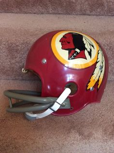 Vintage Riddell Kra-Lite Football Helmet-1972 Washington Redskins- Very Rare | eBay