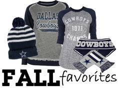 Dallas Cowboys Fall Favorites from Rally House! http://www.rallyhouse.com/nfl-dallas-cowboys