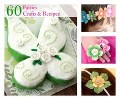 Enter an enchanted fairyland with delightful crafts and recipes inspired by Tinker Bell and her friends.