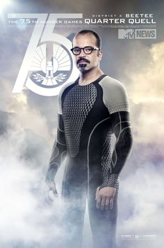 New Poster: The 75th Hunger Games Quarter Quell - Beetee