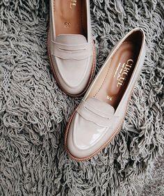 Creamy loafers #circulmark #forladies
