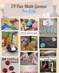24 Fun Math Games For Kids