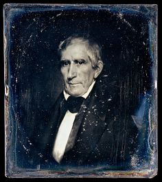 William Henry Harrison - by Albert Sands Southworth.  ca. 1850.