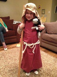 How to make a nativity play shepherds costume from a pillowcase shepherd costume solutioingenieria Gallery