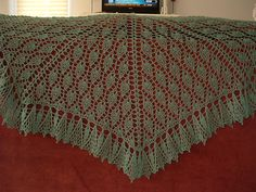 Ravelry: Small Talk Shawl pattern by Cheri McEwen