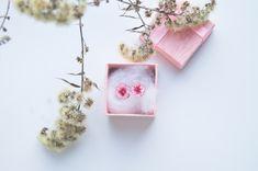Marsala cherry blossom earrings, Women's day gift for her, Sakura earrings studs, Cherry blossom jewelry, Flower jewelry, Clay floral studs Cherry Blossom Jewelry, Best Gifts For Her, Flower Jewelry, Marsala, Ladies Day, Women's Earrings, Studs, Gift Wrapping, Clay