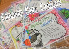 Spring Themed CCSS aligned centers- a MUST for any 2nd grade teacher!
