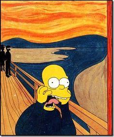 L'urlo di Homer Simpson