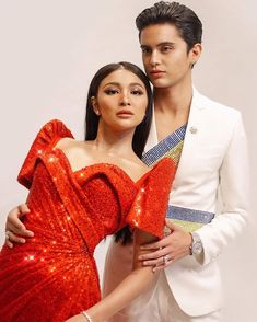 Nadine Lustre and James Reid Philippine Women, James Reid, Nadine Lustre, Jadine, Celebrity Dresses, Girl Photography, Character Inspiration, Abs, Beautiful Women