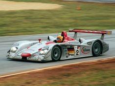 Audi R8 LMP.  One of the most successful cars in the history of the 24 Hours of Le Mans.