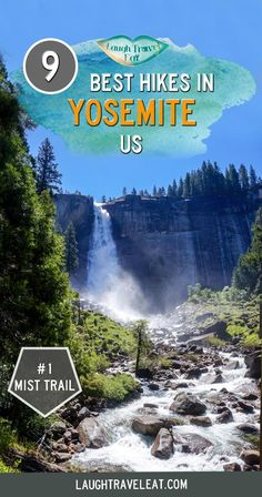 Looking for the best hikes to Yosemite National Park California? Here's our top 9 from Taft Point to the Mist Trail: Travel Vacation List Holiday Tour Trip Yosemite California, California National Parks, Us National Parks, Yosemite National Park, California Travel, Northern California, California Honeymoon, National Road, West Coast Road Trip