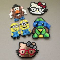 Hama perler beads collection by christina_eats