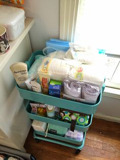 Ikea Cart In Baby Room From The Desk Eleanor S