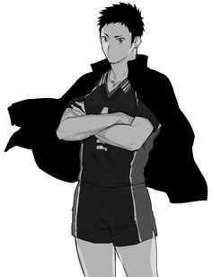 Haikyuu x Reader - Sawamura Daichi - Please? Daichi Sawamura, Daisuga, Oikawa Tooru, Haikyuu Karasuno, Bokuaka, Haikyuu Ships, Haikyuu Fanart, Haikyuu Anime, Hot Anime Boy