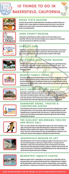 10 Fun and Cool Things to do in Bakersfield California California Places To Visit, California Travel, Stuff To Do, Things To Do, Cool Stuff, Rv Travel, Travel Local, Road Trip Usa, Usa Roadtrip