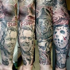 Horror movie sleeve