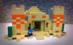 LEGO Minecraft Sets | LEGO Minecraft Desert and Jungle Temple Prototype Sets