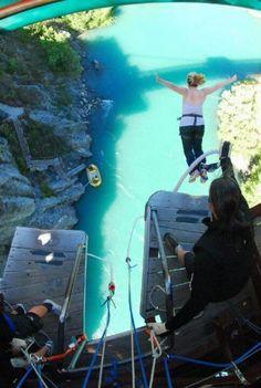 Bungy jump Queenstown NZ!
