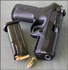 The Beretta PX4... Beretta would Be My 1st Choice actually in A Trusted Firearm.