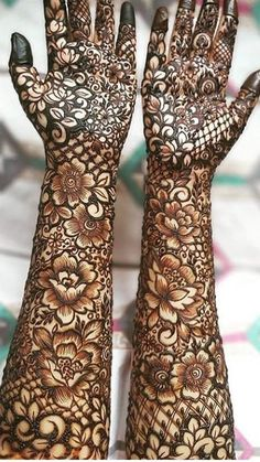 Here are the best and Latest Henna Mehndi Designs for Brides. Khafif Mehndi Design, Mehndi Designs Feet, Indian Mehndi Designs, Mehndi Designs 2018, Mehndi Designs For Beginners, Modern Mehndi Designs, Mehndi Design Photos, Tattoo Designs, Mehandi Designs