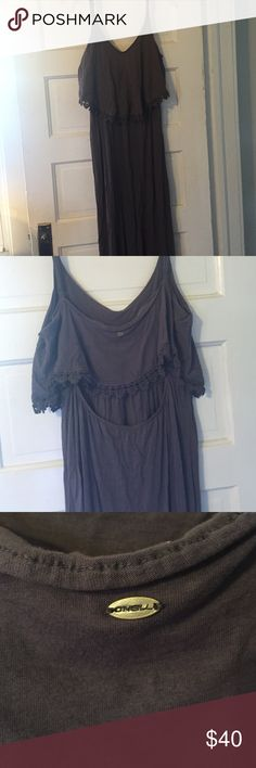 ⚡️sale⚡️Oneill keyhole maxi dress Super soft maxi dress new without tags open to reasonable offers (hat also listed for sale) Oniell Dresses Maxi