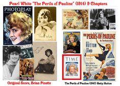 """Rare film & TV classics on DVD!: Pearl White """"The Perils of Pauline"""" (1914 & 1947) Betty Hutton"""