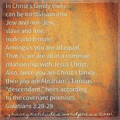 Blog Post 》Equal Heirs of Grace: https://gracegratitudes.wordpress.com/2015/08/25/equal-heirs-of-grace/