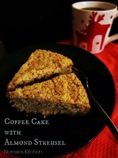 Coffee Cake with Almond Streusel | Nomsies Kitchen