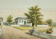 Josias Cornelis Rappard - De oude Portugese buitenkerk in Batavia
