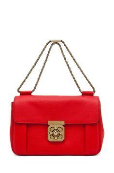 Chloe Elsie Medium Shoulder Bag Capri Night 44