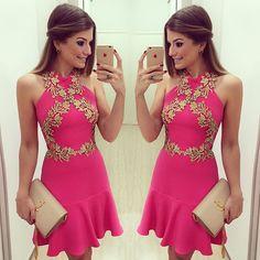 {Pink} Dress @bambola_siteoficial A marca agora está com site para venda no varejo viu meninas? Quem sempre babava nos meus looks Bambola, agora pode comprar online: www.bambolarp.com.br Acompanhem as novidades por lá @bambola_siteoficial • #pinkmood #pinkngold #sitebambola #blogtrendalert