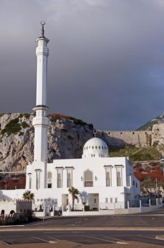 Europa Point, Gibraltar: the Mosque of the Two Holy Custodians
