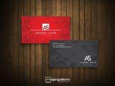 Cartão de visita advogada!