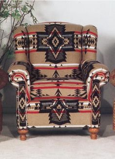 Gives a traditional chair quite a kick, doesn't it?
