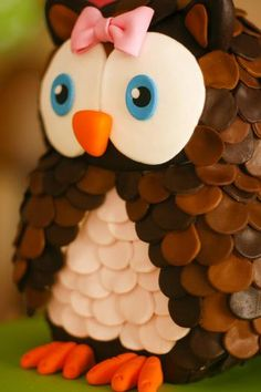 Hostess with the Mostess® - Lucia´s owl themed party