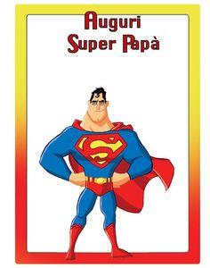Auguri Super Papà
