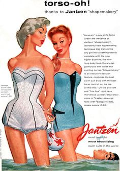 Jantzen 1955 illustrated by Pete Hawley